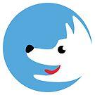 Blue Dog Logo Nr. 1 by Silvia Neto