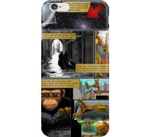The Last Octochimp - page 2 (coloured) iPhone Case/Skin