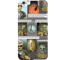 Hugo [plays with zombies] - page 1 iPhone Case/Skin
