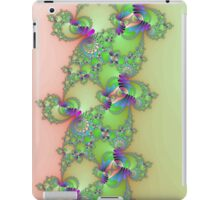 Fractal in Green & Pink iPad Case/Skin