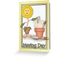 Moving Day Card Greeting Card