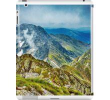 Fagaras mountain range in Romania iPad Case/Skin
