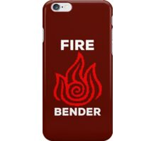 Fire Bender and Proud iPhone Case/Skin