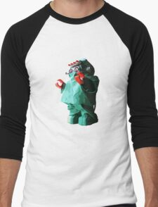 Doctorbot Men's Baseball ¾ T-Shirt