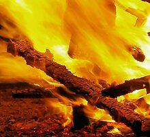 Burning remains by KirkArt
