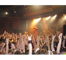 Papa Roach Capture The Crowd Photographic Print