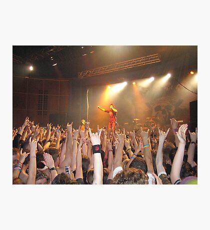 Papa Roach Capture The Crowd Photographic Print