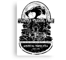 Thundera Training Camp (white) Canvas Print