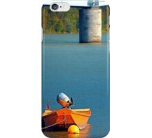 Boat on the river | landscape photography iPhone Case/Skin