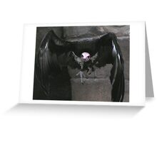 Deathly Vulture Greeting Card