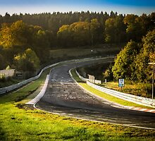 Nürburgring Nordschleife: Dawn at Brünnchen by BridgeToGantry