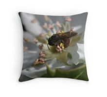 Hugging The Centre Throw Pillow