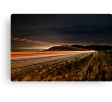 The Home Stretch Canvas Print