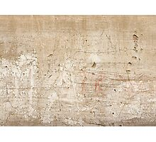 Scratch wall Photographic Print