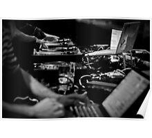 High-Tech Music Making Poster
