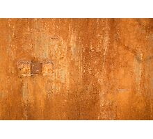 Rusty wall Photographic Print