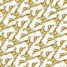 Golden birds by RosiLorz