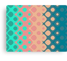 Strawberry Mint Bubbles Canvas Print