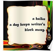 i haiku you Poster