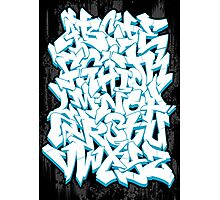 Graffiti Alphabet Photographic Print