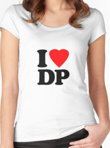 I Heart DP Women's Fitted Scoop T-Shirt