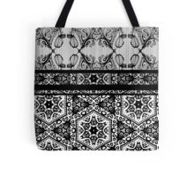 Art Deco-ration (black and White) Tote Bag