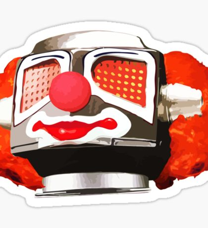 Clownbot Sticker