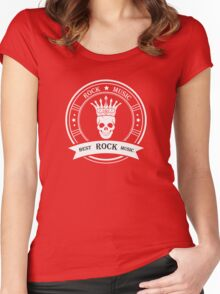 Style of Rock Music Women's Fitted Scoop T-Shirt