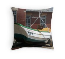 SN.7 Coble. James Denyer (Fishing boat)  Throw Pillow