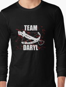 Team Daryl The Walking Dead Long Sleeve T-Shirt