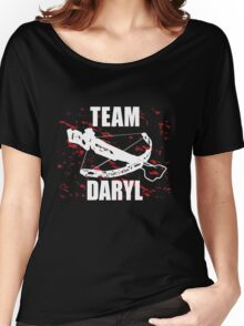 Team Daryl The Walking Dead Women's Relaxed Fit T-Shirt