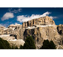 Sella mountain Photographic Print