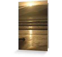 Let's go to the beach Greeting Card