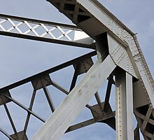 Train Trestle Bridge Abstract by CarolM