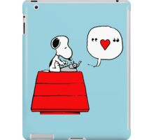Snoopy in Love iPad Case/Skin