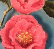 Camellias Sticker