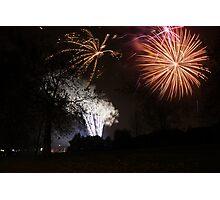 5th November: Guy Fawkes' Night Photographic Print