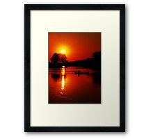 Approaching Twilight Framed Print