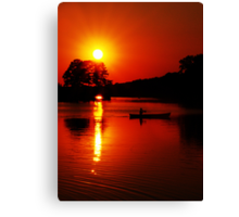 Approaching Twilight Canvas Print