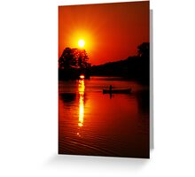 Approaching Twilight Greeting Card