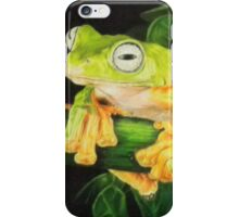 Musky Flying Frog iPhone Case/Skin