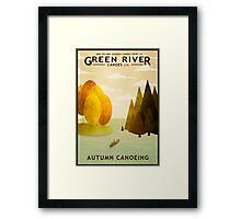 Explore Autumn Framed Print
