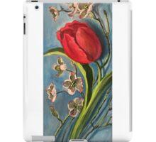 Tulip and Dogwoods iPad Case/Skin
