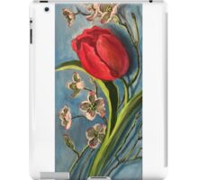 Tulip and Dogwoods iPad Case/Skin
