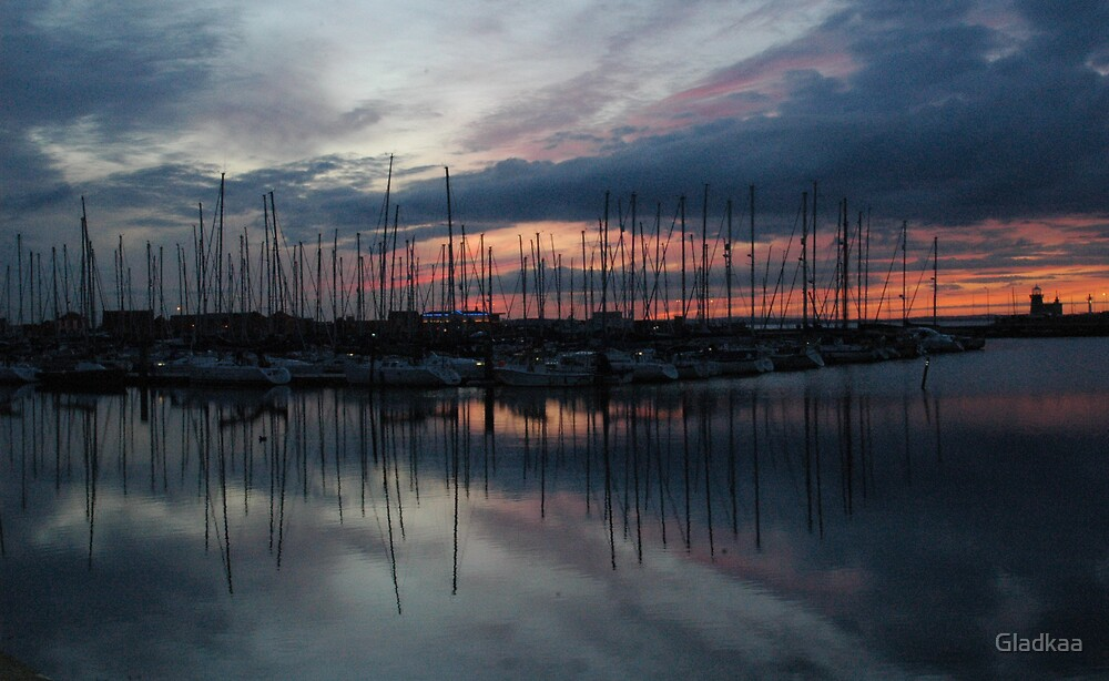 Harbour by Gladkaa