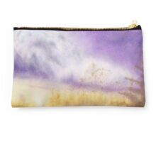 Autumn & Purple Velvet Studio Pouch