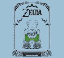 Zelda legend Green potion Kids Tee