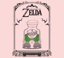 Zelda legend Green potion One Piece - Long Sleeve