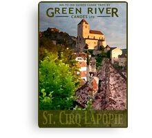 Explore St. Cirq Lapopie Canvas Print