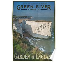 Explore - Canoeing the Garden of England Poster